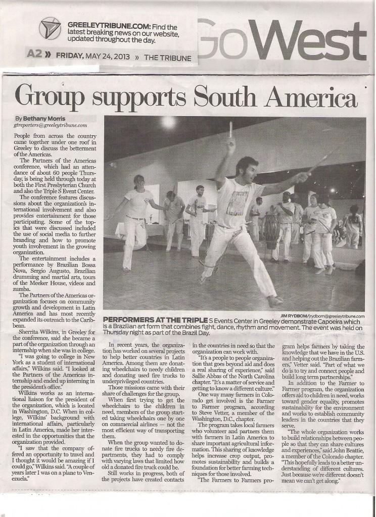Greeley Tribune, May 24, 2013